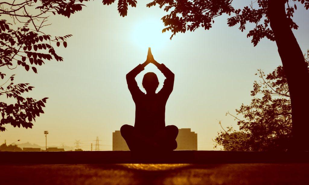 Meditation Sunlight Self Improvement