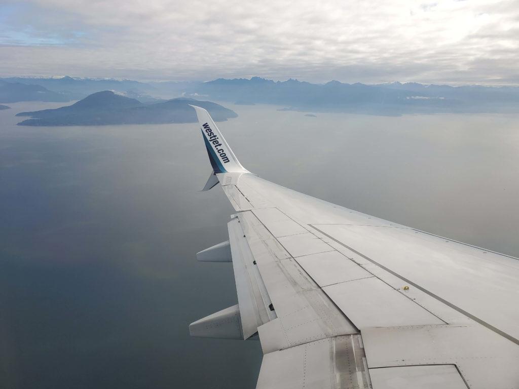 Plane Shot Vancouver