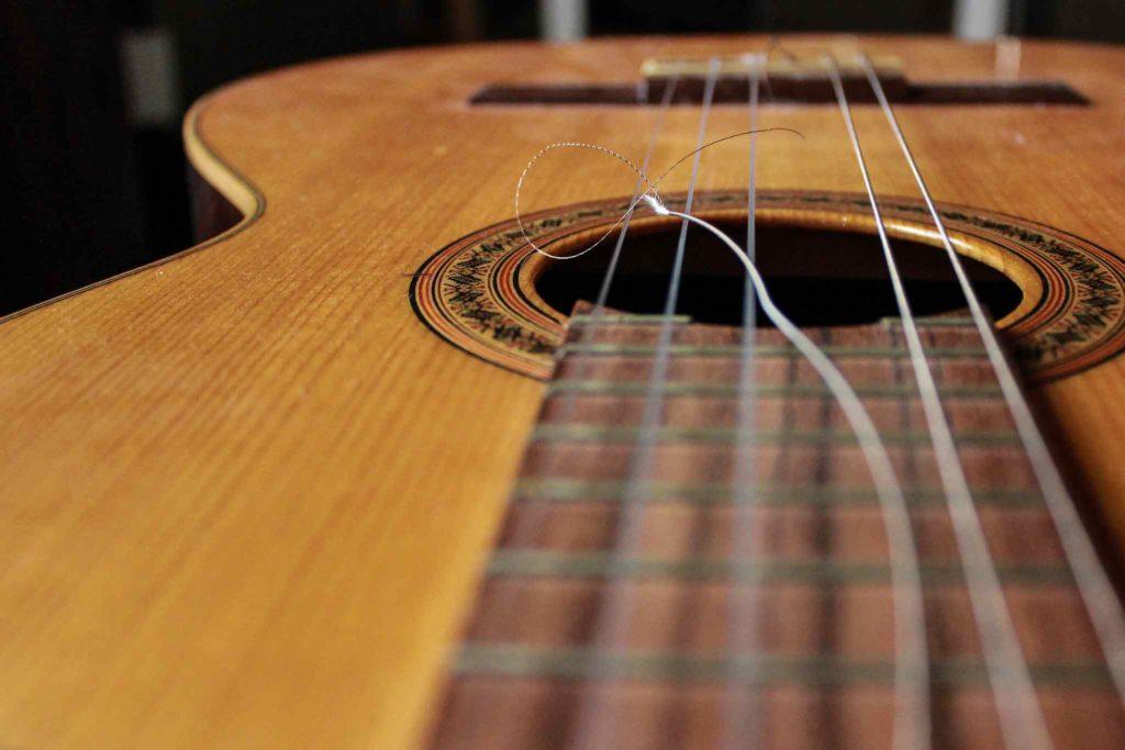 Broken Guitar String
